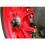 Sato Racing Rear Axle Sliders - MV Agusta Motorcycle Body Parts