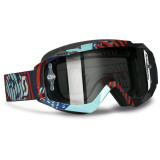 Scott 2013 Hustle Graphic Goggles - Chrome - Scott ATV Goggles and Accessories