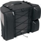 Saddlemen BR4100 Dresser Back Seat Bag - Cruiser Tail Bags