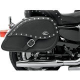 Saddlemen Teardrop Desperado Saddlebags With LED Marker Light - Saddlemen Motorcycle Luggage