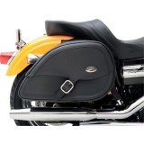 Saddlemen Teardrop Drifter Saddlebags With LED Marker Light - Saddlemen Motorcycle Luggage