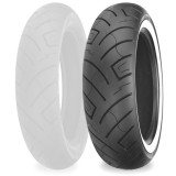 Shinko 777 Rear Tire - Whitewall - Cruiser Tires
