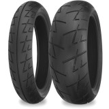 Shinko 009 Raven Tire Combo -  Motorcycle Tire Combos