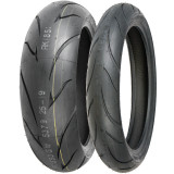 Shinko 011 Verge Tire Combo -  Motorcycle Tire Combos