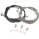Streamline 3-Line Front Brake Line Combo - Brakes & Accessories
