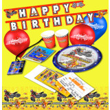 Smooth Industries MX Superstars Birthday Party Pack - Utility ATV Gifts