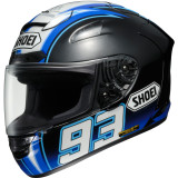 Shoei X-12 Helmet - Montmelo Marquez - Shoei Helmets and Accessories