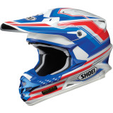 Shoei VFX-W Helmet - Salute - Dirt Bike Motocross Helmets