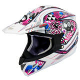Scorpion VX-34 Demented Helmet - Scorpion Dirt Bike Riding Gear