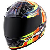 Scorpion EXO-R2000 Helmet - Tagger Ensenada - Full Face Motorcycle Helmets