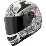 Speed & Strength SS1300 Helmet - Wicked Garden - Full Face Motorcycle Helmets
