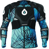 Six Six One Evo Pressure Suit - SixSixOne Dirt Bike Chest and Back