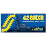 Sunstar 428 MXR1 Works MX Racing Chain - Yamaha YZ85 Dirt Bike Drive