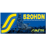 Sunstar 520 HDN Heavy Duty Non-Sealed Chain