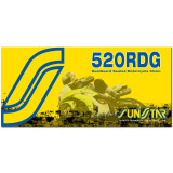 Sunstar 520 Road Dualguard Sealed Chain -  Motorcycle Chains and Master Links