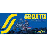 Sunstar 520 XTG Tripleguard Sealed ATV & Offroad Chain - FEATURED-1 Dirt Bike Dirt Bike Parts