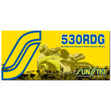 Sunstar 530 RDG Dualguard Sealed Chain -  Motorcycle Chains and Master Links