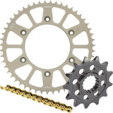 Sunstar Chain & Aluminum Sprocket Combo - Yamaha YZ85 Dirt Bike Drive