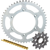 Sunstar Chain & Steel Sprocket Combo - Yamaha YZ85 Dirt Bike Drive