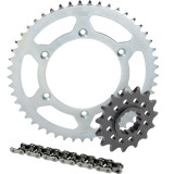 Sunstar Steel Sprocket & Chain Kit 525 - Suzuki Motorcycle Drive
