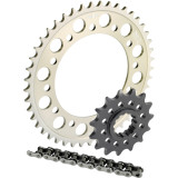 Sunstar Aluminum Sprocket & Chain Kit 520 - Suzuki Motorcycle Drive