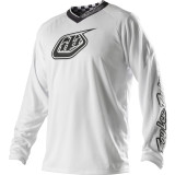 Troy Lee Designs 2014 GP Jersey - White-Out -  Motocross Jerseys