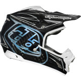 Troy Lee Designs 2014 SE3 Helmet - Pinstripe - Troy Lee Designs Utility ATV Helmets