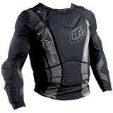 Troy Lee Designs 2014 Shock Doctor UPL7855-HW Base Protective Long Sleeve Shirt - Dirt Bike Protection Jackets