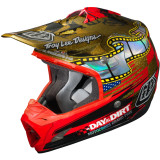 Troy Lee Designs 2014 SE3 Helmet - A Day In The Dirt - Troy Lee Designs Utility ATV Helmets
