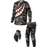 Troy Lee Designs 2014 GP Combo - P-51 - Utility ATV Pants, Jersey, Glove Combos