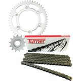 Turner Steel Sprocket & Chain Kit - Dirt Bike Dirt Bike Parts