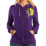 Thor 2014 Women's Blockette Fleece Zip Hoody - Motorcycle Womens Casual