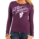 Thor 2014 Women's Curly-Q Long Sleeve Thermal - Motorcycle Womens Casual