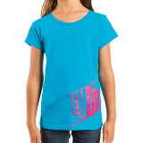 Thor 2014 Girl's Blockette T-Shirt - Thor Motorcycle Youth Casual
