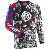 Thor 2014 Youth Phase Jersey - Volcom Paradox - Thor Dirt Bike Riding Gear