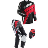 Thor 2014 Phase Combo - Stripe - Thor Dirt Bike Riding Gear