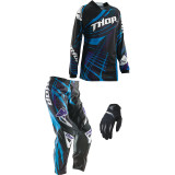 Thor 2014 Women's Phase Combo - Flora - Thor Dirt Bike Riding Gear