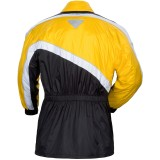 Black/Yellow Back