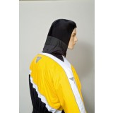 Black/Yellow Hood
