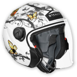 Vega Phantom Helmet - Butterfly -  Motorcycle Flip Up Modular Helmets