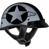Vega XTA Helmet - Flightline - Motorcycle Half Shell Helmets
