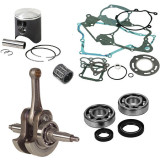 Vertex Hot Rods Complete Top & Bottom End Kit - 2-Stroke - Piston Kits and Accessories