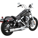 Vance & Hines Hi-Output 2-Into-1 Exhaust - Cruiser Exhaust Systems