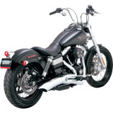 Vance & Hines Big Radius 2-Into-1 Exhaust - Cruiser Exhaust Systems