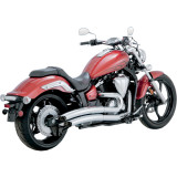 Vance & Hines Big Radius 2-Into-2 Exhaust - Cruiser Exhaust Systems