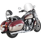 Vance & Hines Twin Slash Rounds Slip-On Exhaust - Vance and Hines Cruiser Exhaust