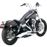 Vance & Hines Big Radius 2-Into-1 Catalytic - Cruiser Full Exhaust Systems