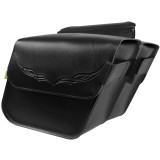 Willie & Max Condor Slant Saddlebags