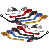 Yana Shiki Adjustable Folding Brake / Clutch Levers -  Motorcycle Controls