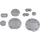 Yamaha Star Accessories Custom Chrome Right Hand Small Engine Cover Insert - Cruiser Engine Parts & Accessories